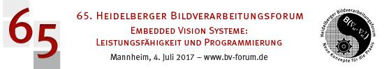 Banner 65. Heidelberger Bildverarbeitungsforum