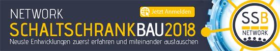 SCHALTSCHRANKBAU NETWORK 2018