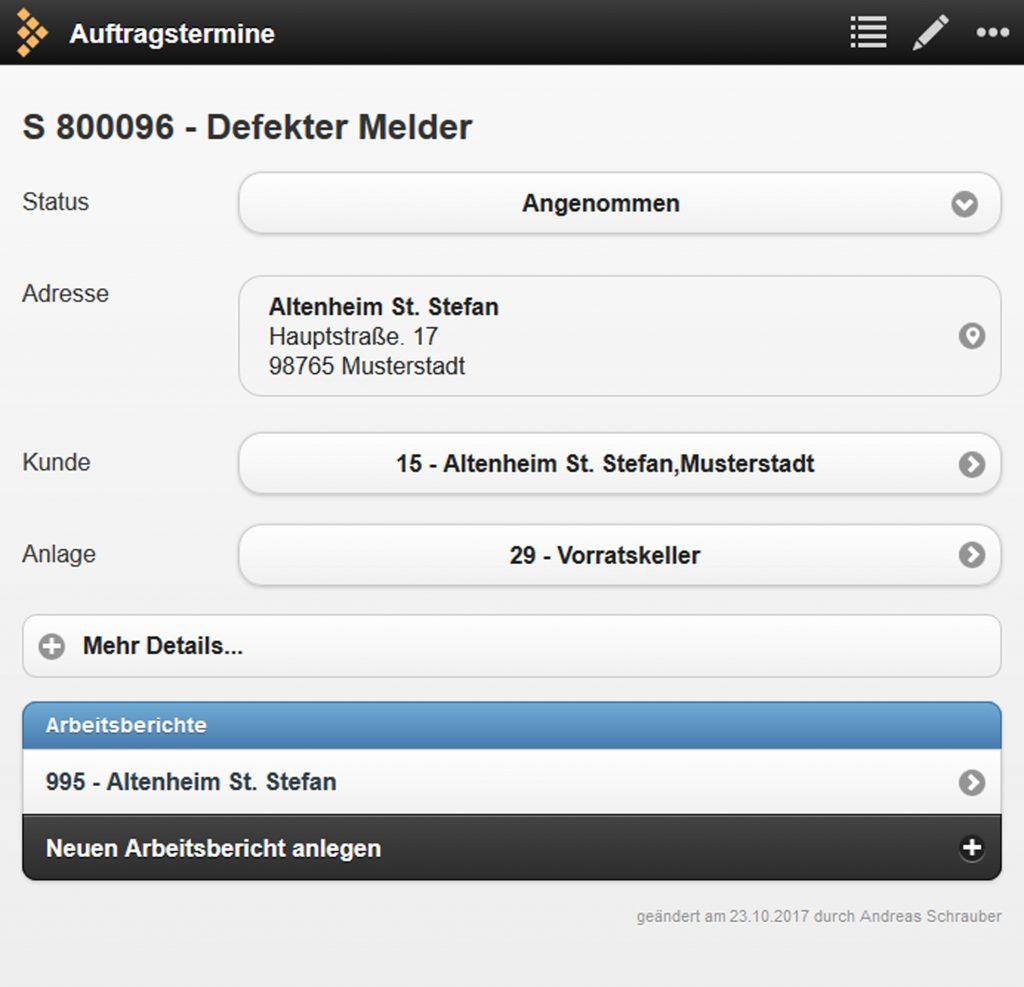 Bild: Errichter Software GmbH es2000