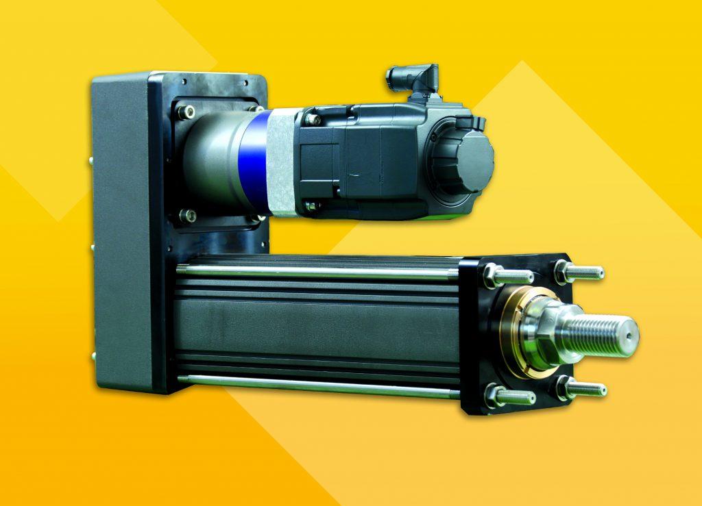 Elektrozylinder mitRollengewindetrieb