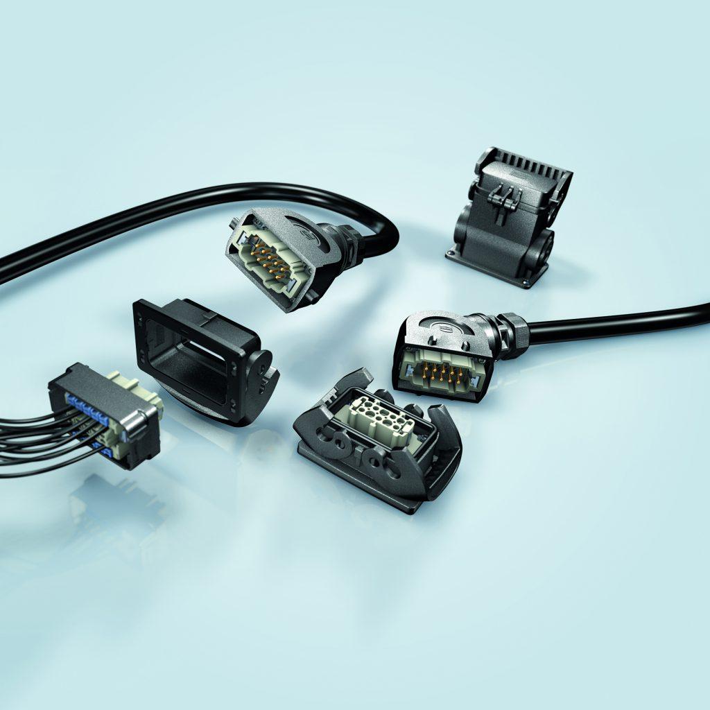 Standardsteckverbinder in Kunststoff und Metall