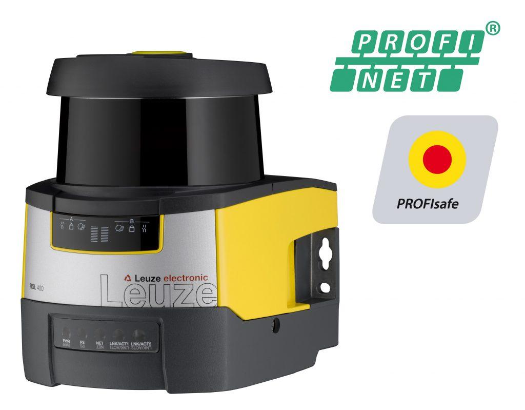 Sicherheits-Laserscanner mit Profibus-Schnittstelle