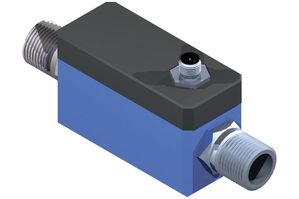IO-Link Inline-Durchflusssensor bis 60l/min