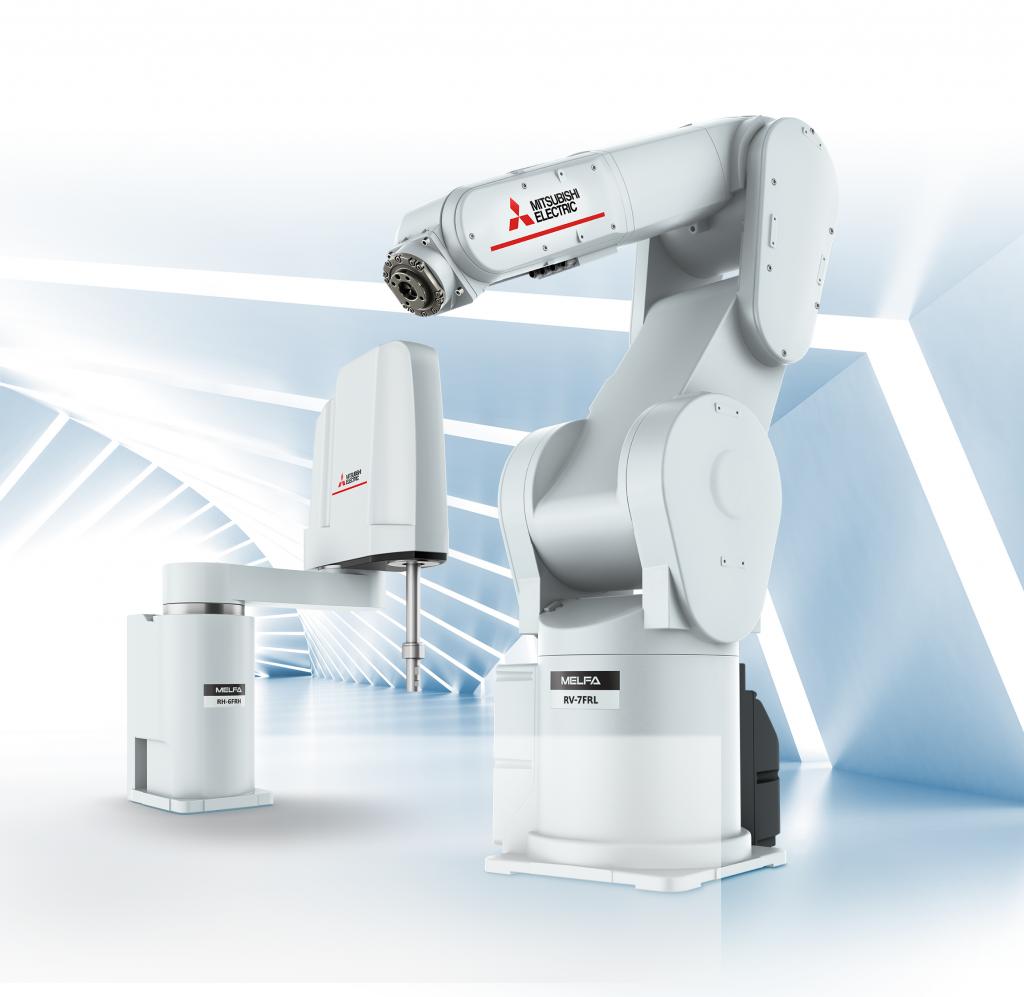 Roboterserie mit skalierbaren Sicherheitsfunktionen