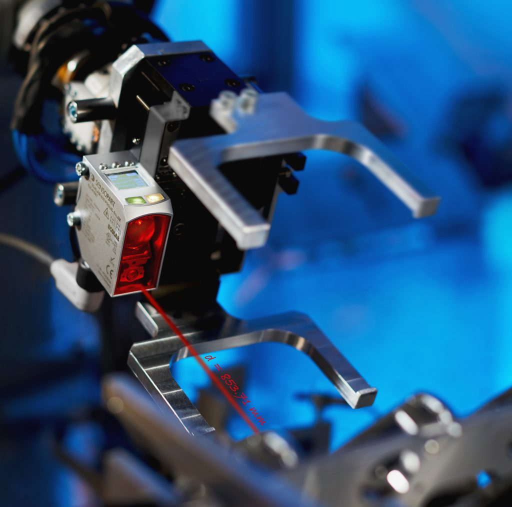 Triangulationssensor mit IO-Link