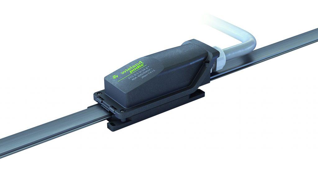 Energiebussystem mit 16mm² Leiterquerschnitt