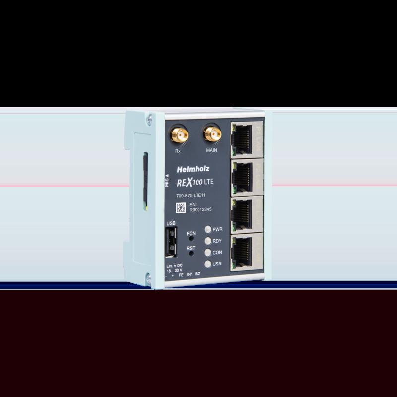 Fernwartungs-Router mit digitalen Eingängen