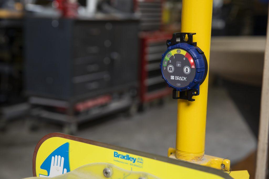Inspektions-Timer mit LED-Anzeige