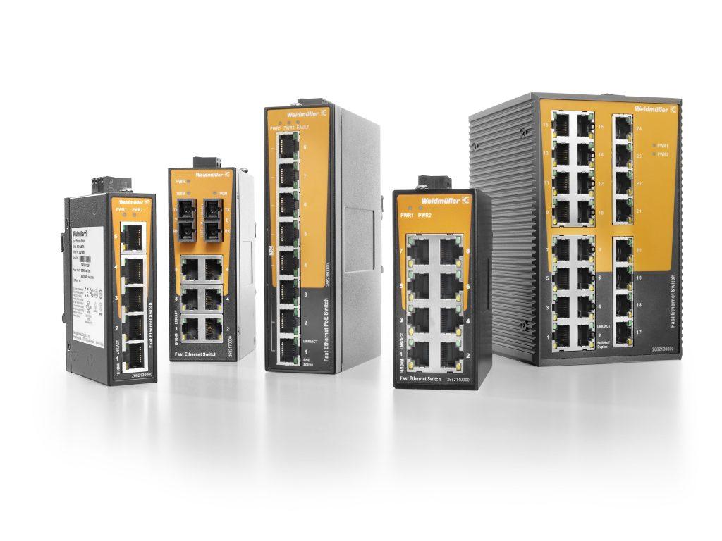 Unmanaged Switche für die industrielle Kommunikation