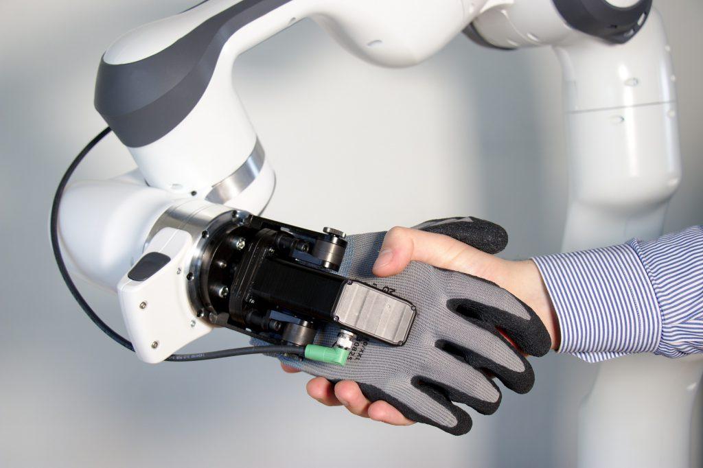 Anatomische Hand für Cobots