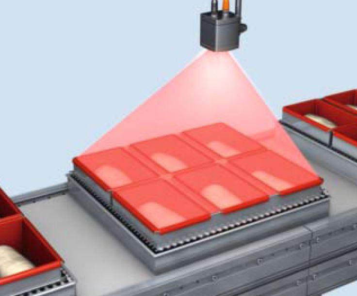 3D-Volumenkontrolle von segmentierten Behältern