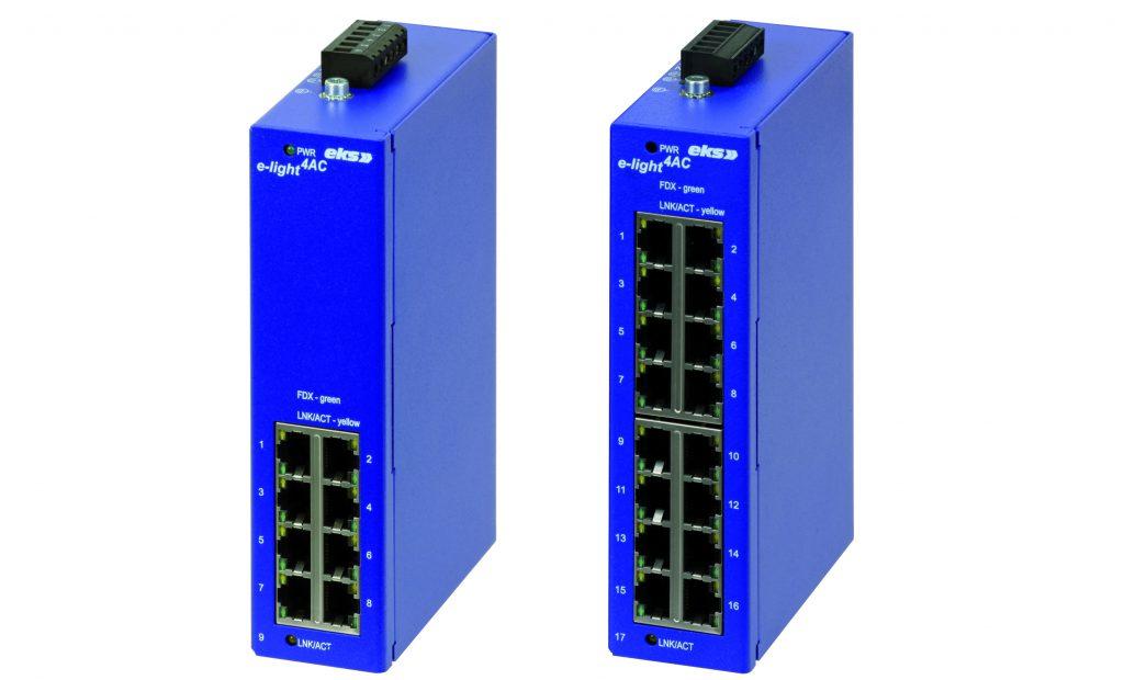 GBit-Switche für 230VAC