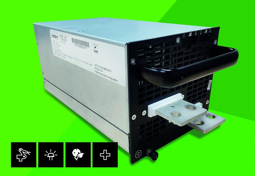 50VDC-Sekundärmodul mit 12kW Ausgangsleistung