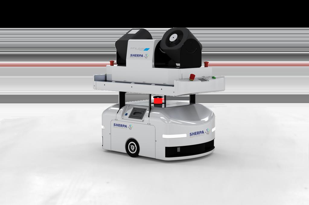 Bild: Sherpa Mobile Robotics (SMR)