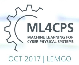 ML4CPS – Machine Learning for Cyber Pysical Systems