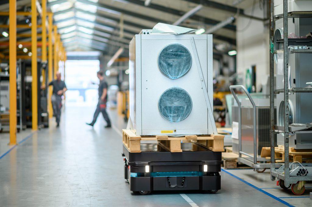 Bild: MiR Mobile Industrial Robots ApS