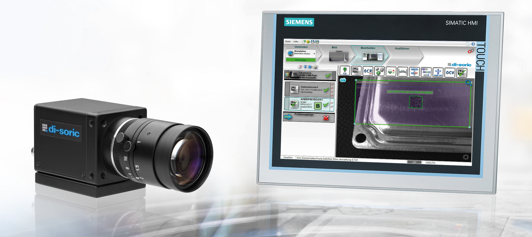 Simatic Integrated Vision