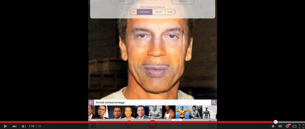 Video: Faceswapping mit Schwarzenegger