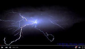 Video: Blitzeinschlag mit High-Speed-Kameras