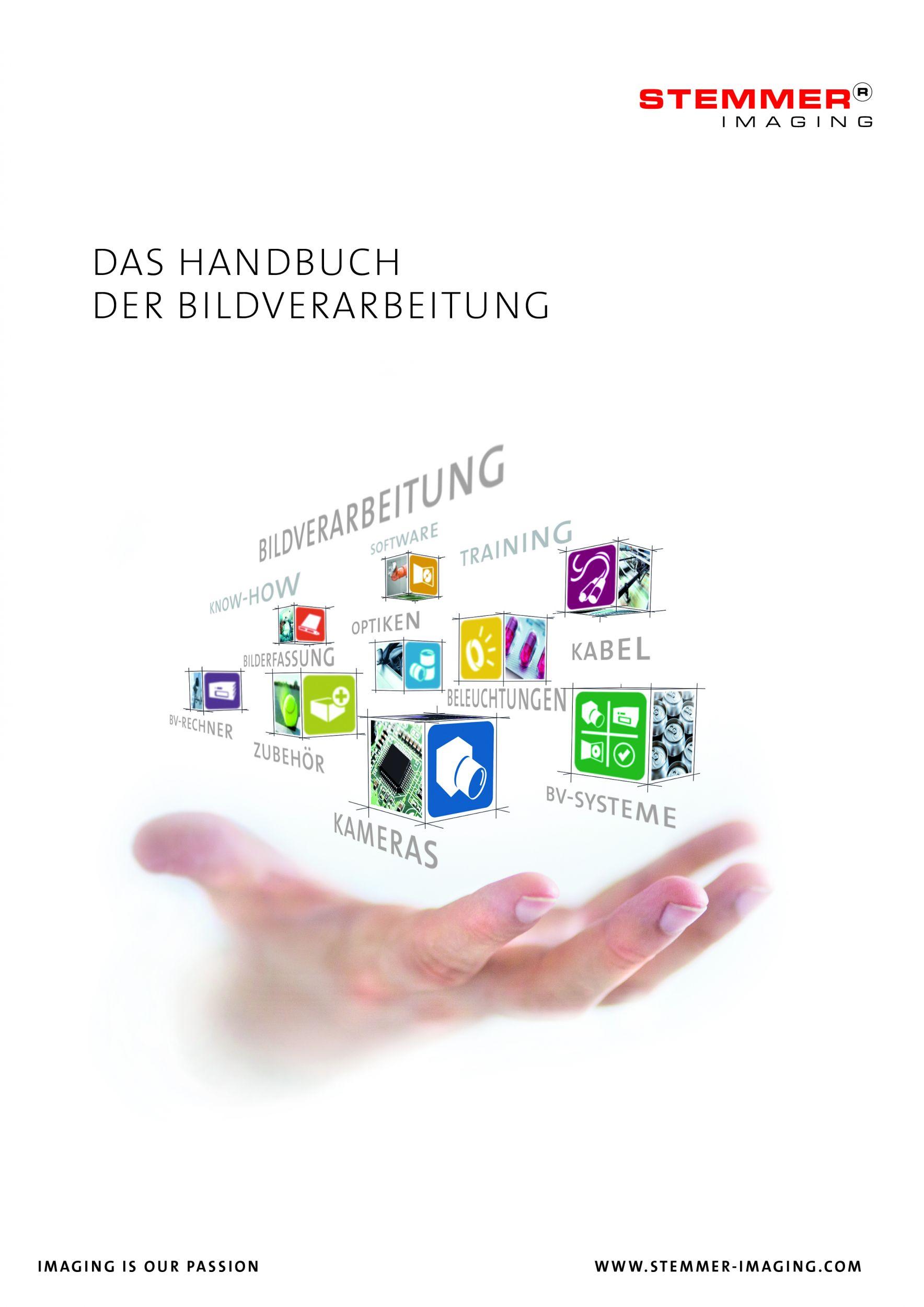 Dritte Auflage des 'Handbuch der Bildverarbeitung'