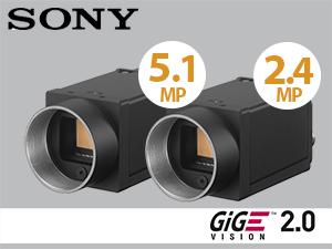 Neues Sony Kamera-Duo für alle Anwendungen von VGA bis 5MP
