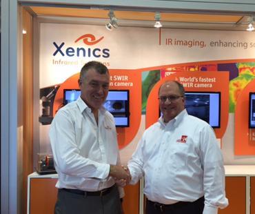 USA-Kooperation Xenics und Laser Components