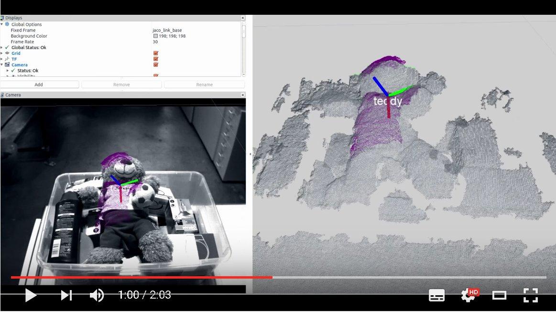 Video: Stückgenauer Kommisionier-Roboter