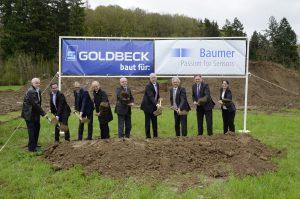 Baumer beginnt mit neuem Logistikzentrum