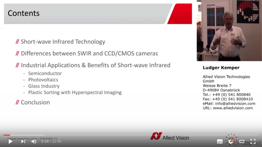 Video: Short-Wave-Infrarot-Technologie