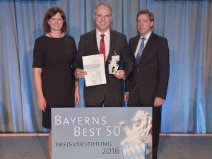 Stemmer Imaging erhält Auszeichnung 'Bayerns Best 50'