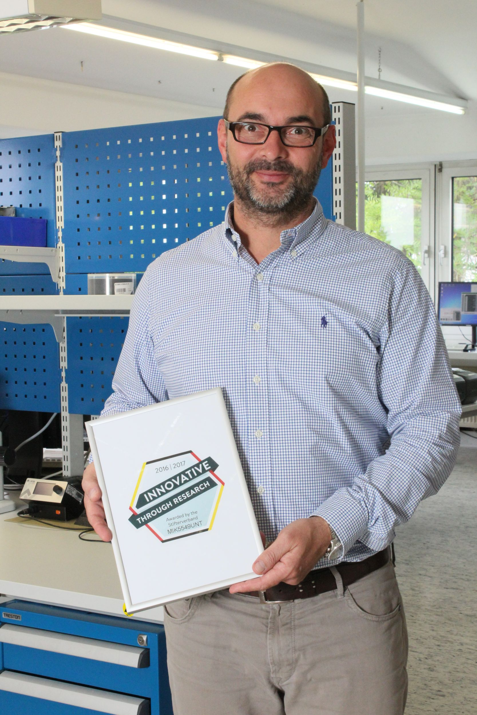 Innovationspreis für Mikrotron