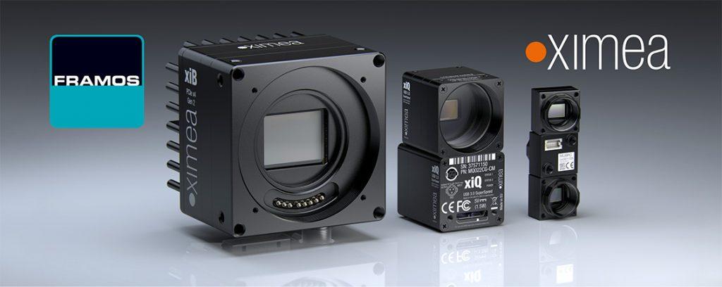 Framos ist US-Distributor von Ximea