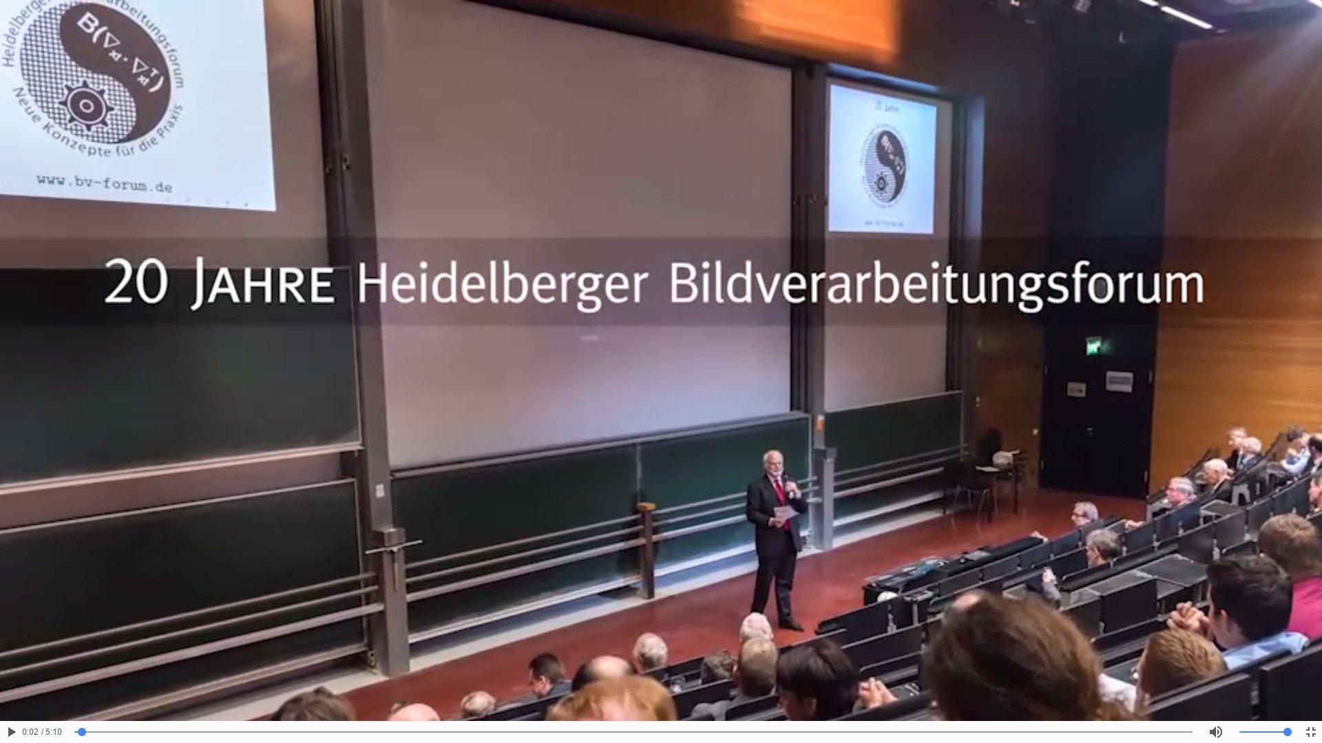 Video: 20 Jahre Heidelberger BV-Forum