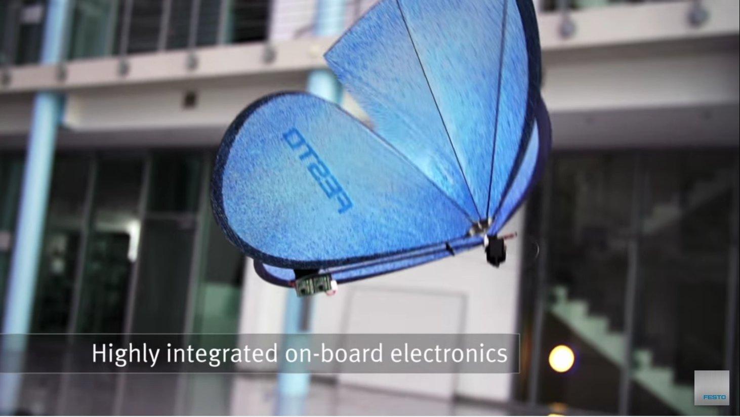 Video: Bionische Schmetterlinge