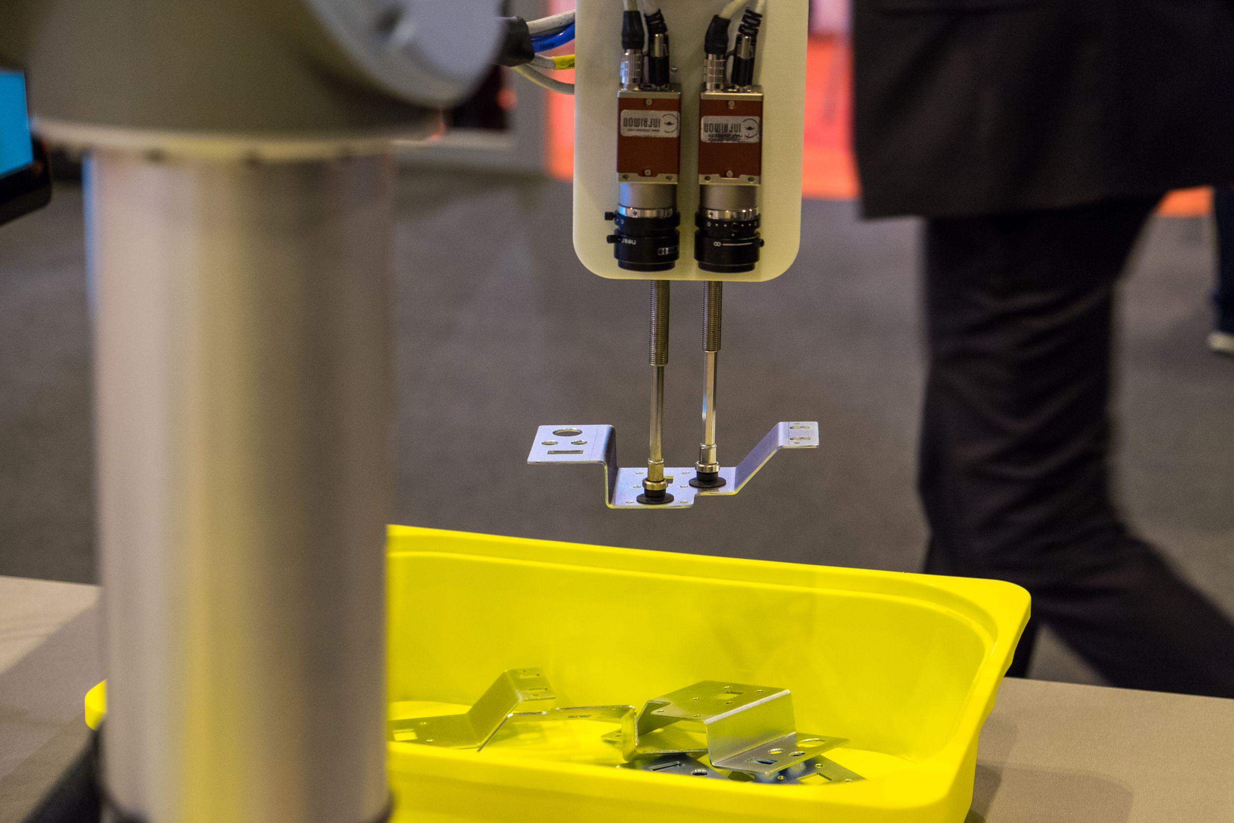 Stereovision für das räumliche Sehen von Robotern
