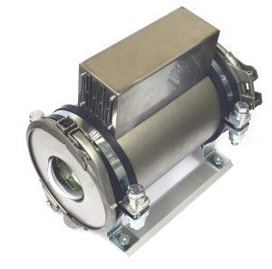 Bild 2: Das Kameraschutzgehäuse Turtle MD mit Domefenster und Peltier-Kühleinheit kühlt die Kamera auf bis zu 30°C unter Umgebungstemperatur. (Bild: Autovimation GmbH)