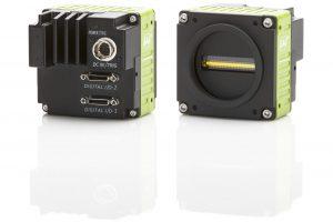 Die neuen monochromen Zeilenkameras der Sweep-Serie wurden kompakt konzipiert (62x62x48mm), haben ein Gewicht von 320g, und sind für Umgebungstemperaturen von -5 bis +45°C sowie einem geringer Stromverbrauch (5,22W) ausgelegt. (Bild: JAI A/S)