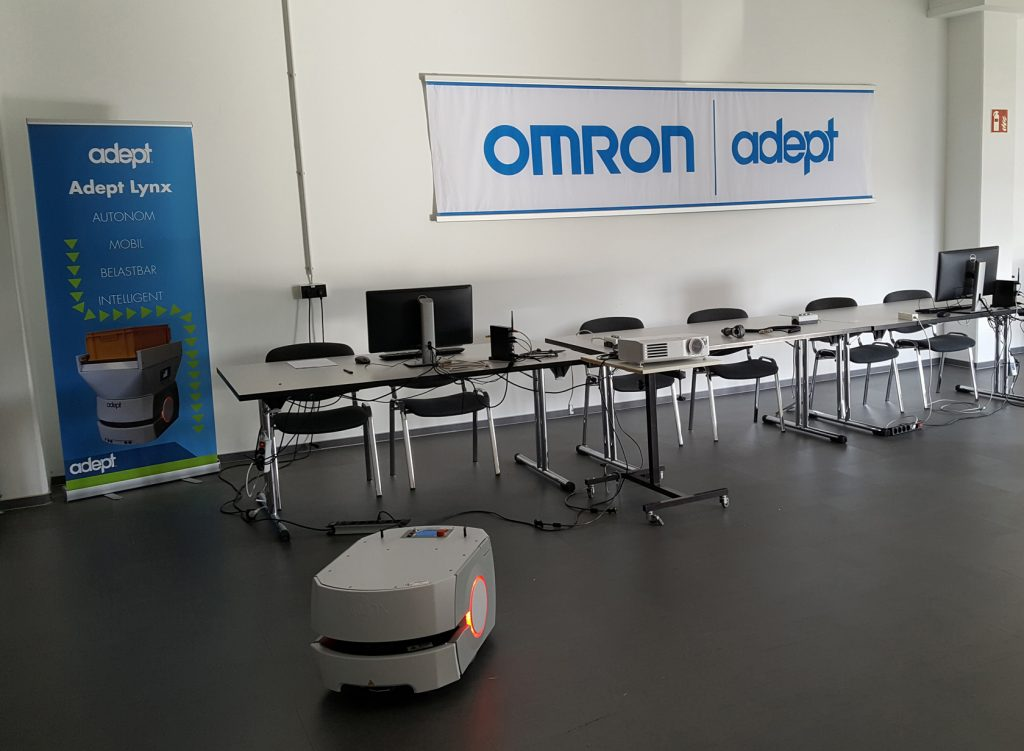 Omron Adept vergrößert Produktionskapazität