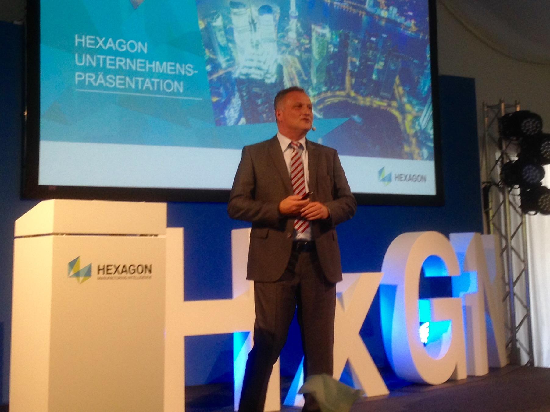 Erfolgreiche KMM-Tagung von Hexagon