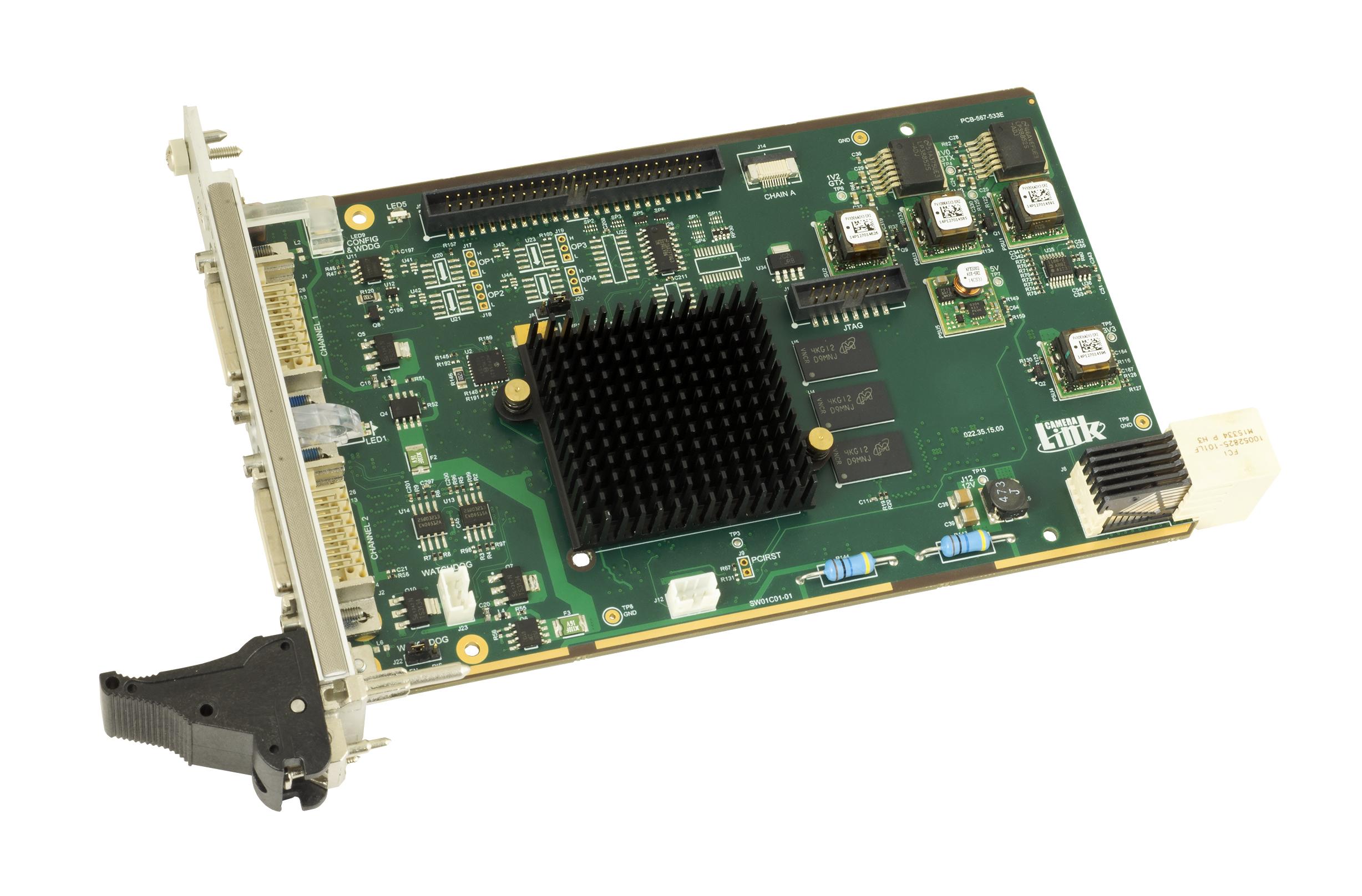 Camera Link 3U cPCI Serial Framegrabber