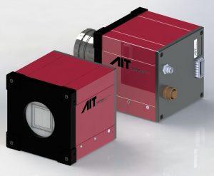 Jede der 60 Zeilen der Xposure Kamera kann individuell ausgelesen werden. So kann für Graustufenaufnahmen eine Zeile mit 600kHz und für Farbaufnahmen drei Zeilen mit 200kHz aufgenommen werden. (Bild: AIT Austrian Institute of Technology GmbH)