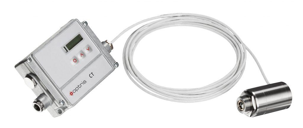 Miniaturisiertes IR-Thermometer für Kunststoff-Folien