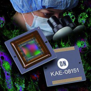 Der KAE-08151 steht als Muster in Monochrom- und Bayer-Farbkonfiguration im CPGA-155-Gehäuse zur Verfügung. Muster mit integriertem TEC sind im ersten Quartal 2017 erhältlich. (Bild: On Semiconductor)