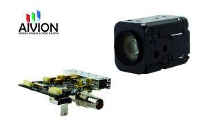 Für Videoübertragung, Kamerasteuerung und Stromversorgung ist nur ein einziges Kabel erforderlich. (Bild: AIVION)