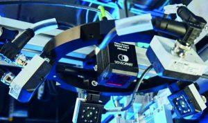 Mit Multishot können wechselnde Hintergrundfarben komplett aus der verarbeitung eliminiert werden, die Auswertung basiert dann ausschließlich auf den erkannten Höhenunterschieden. (Bild: SensoPart Industriesensorik GmbH)