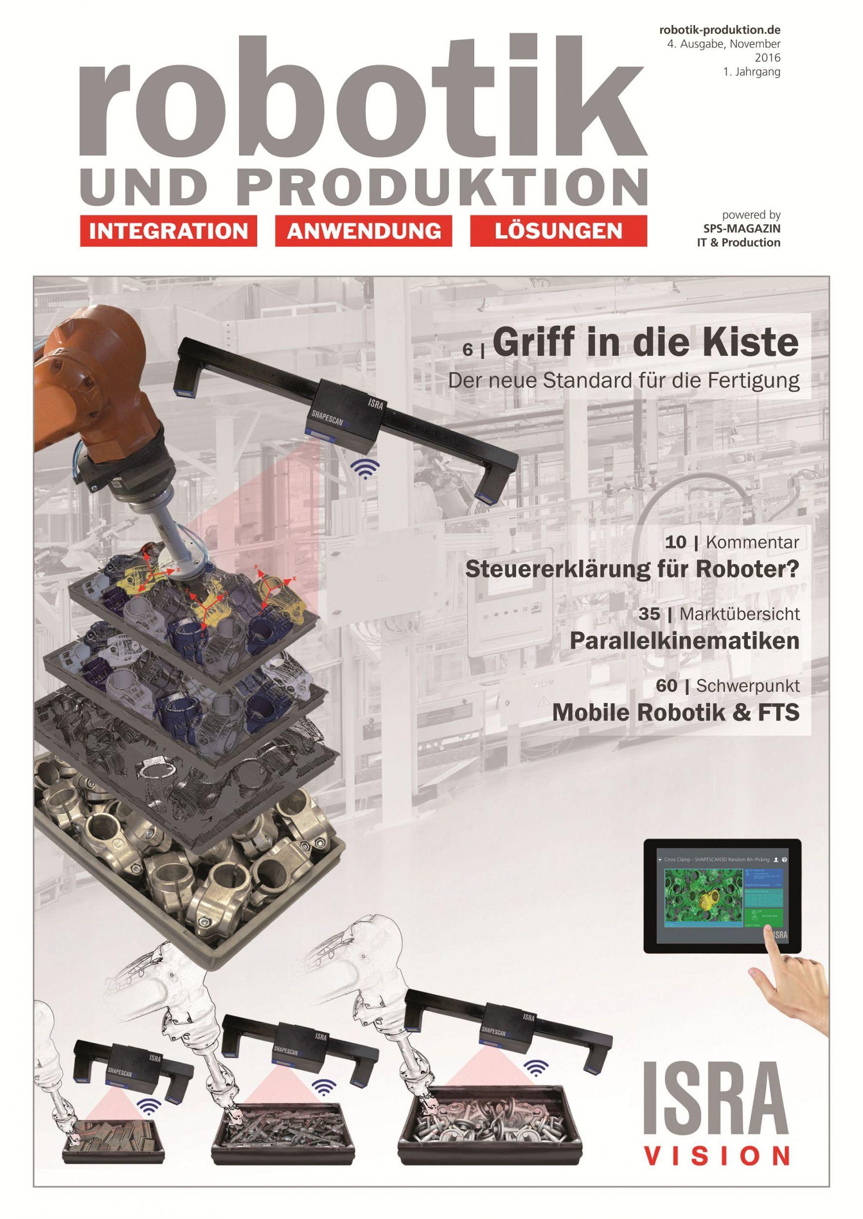 Robotik und Produktion 4/16 (November) ist online