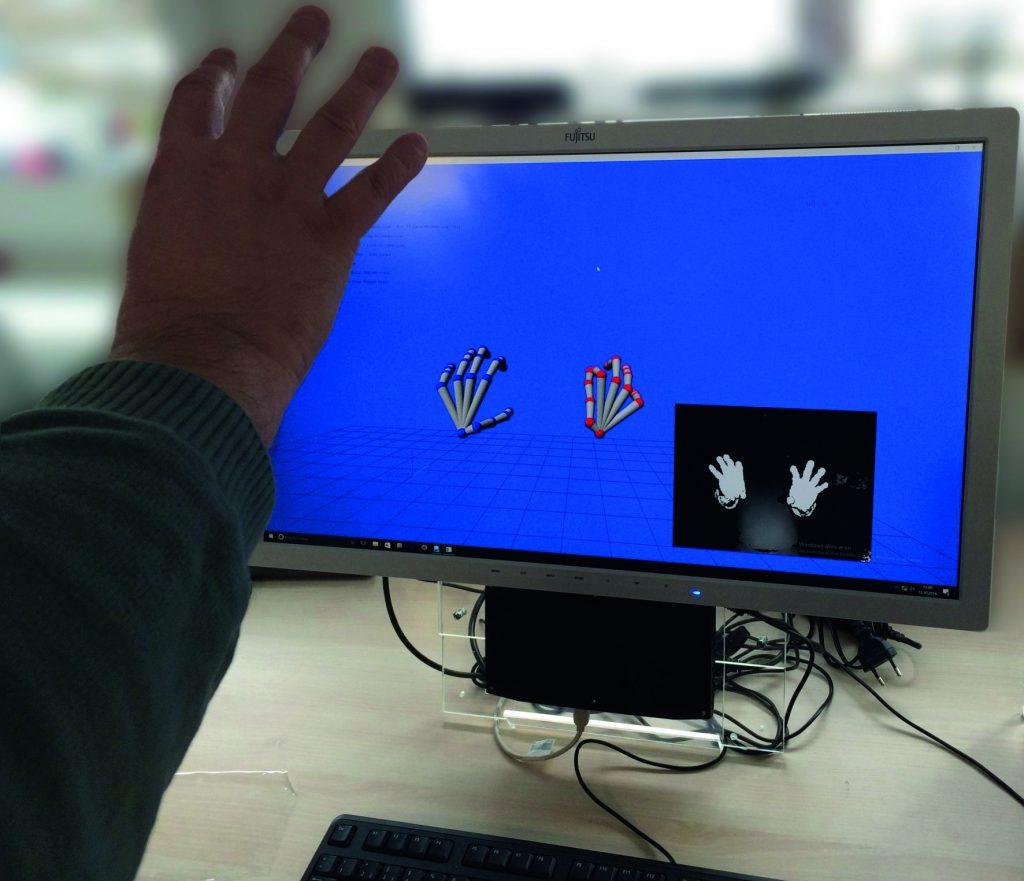 3D-Gestenerkennung bis zu 2m/s