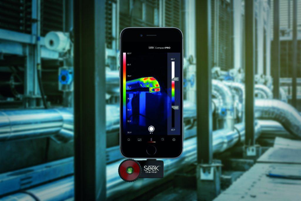 Wärmebildkameras für das Smartphone