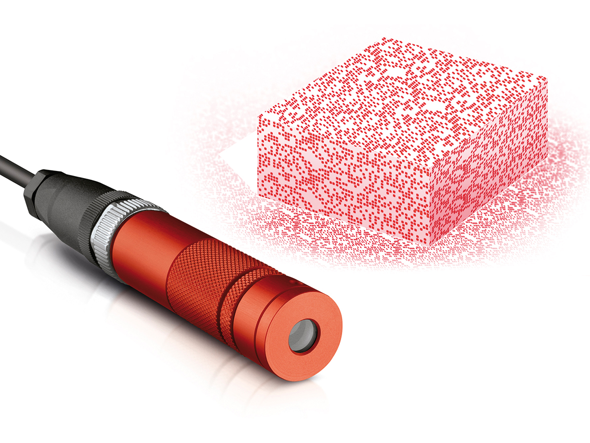 Laser für Stereobildverarbeitung