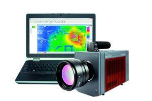Die hochauflösende Thermografie-Kamera ImageIR 10300 markiert derzeit mit 1.920×1.536 IR-Pixel den weltweiten Bestwert unter Kameras, die für den zivilen Einsatz bestimmt sind und gekühlte FPA-Photonendetektoren verwenden. (Bild: InfraTec GmbH)